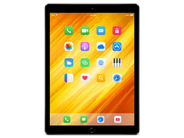iPad Air 2 with Wi-Fi Only - 32GB - Space Gray - Refurbished - Good - Product Image