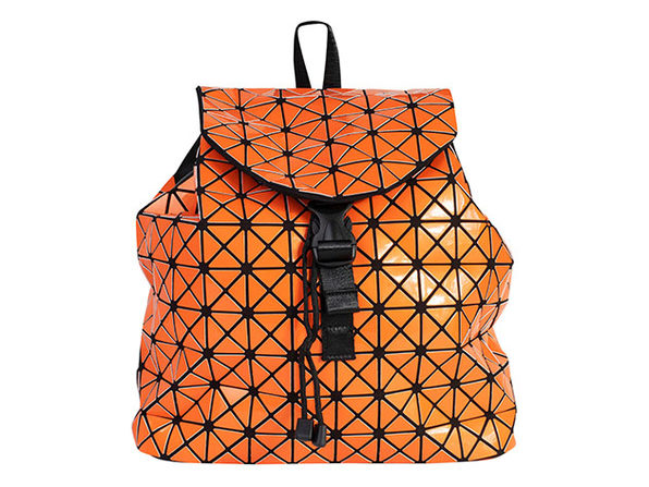 Geo Shaped Backpack - Orange - Product Image