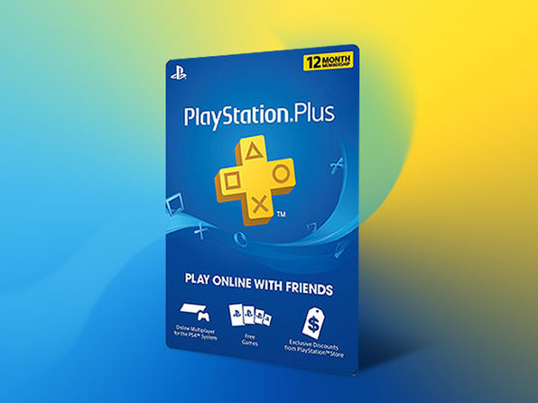 PlayStation Plus: 1-Yr Subscription - Product Image