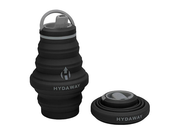 Hydaway 17oz Collapsible Water Bottle with Spout Lid
