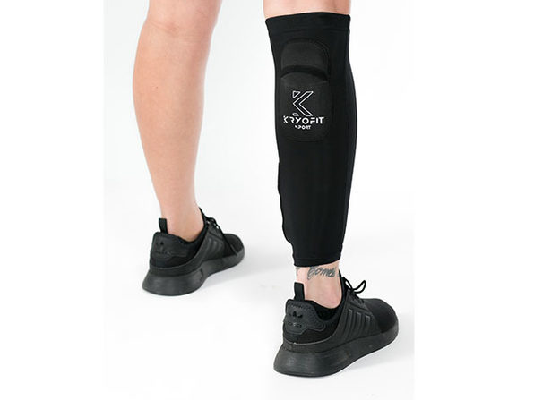 Dual Compression Full Leg Sleeves with Freeze Packs (XXL)