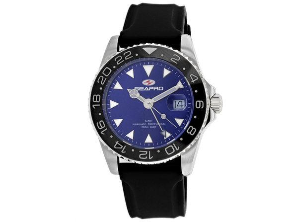 Seapro Men's Blue Dial Watch SP0125B