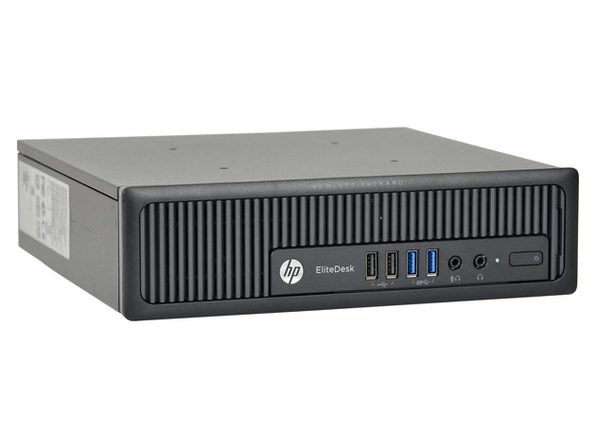 HP EliteDesk 800G1 Ultra Small Form Factor PC, 3.10GHz Intel i5 Quad Core Gen 4, 4GB RAM, 500GB SATA HD, Windows 10 Home 64 Bit (Renewed)