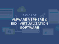 Basics of VMWare vSphere & ESXi Virtualization Software - Product Image