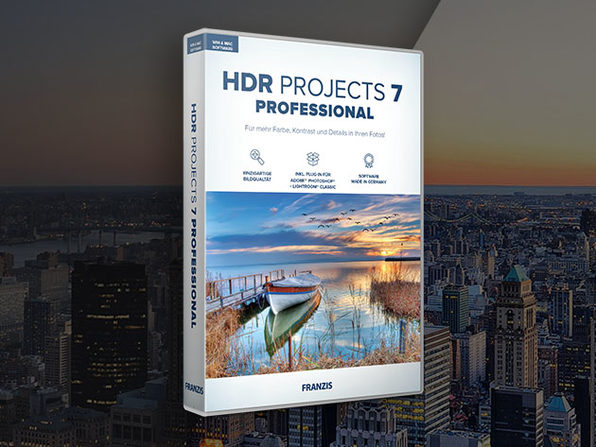HDR Projects 7 Professional: Photo Editing Software