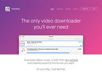 Yummy Video Downloader - Product Image
