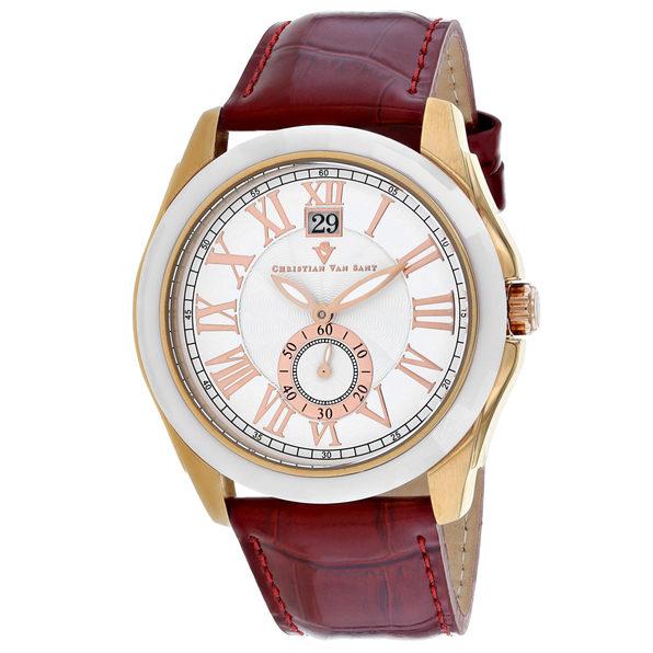 Christian Van Sant Men's Gravity White Dial Watch - CV3102