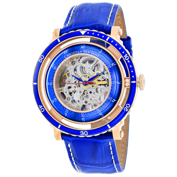 Christian Van Sant Men's Dome Silver Dial Watch - CV0742