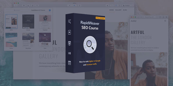 RapidWeaver SEO Video Course - Product Image
