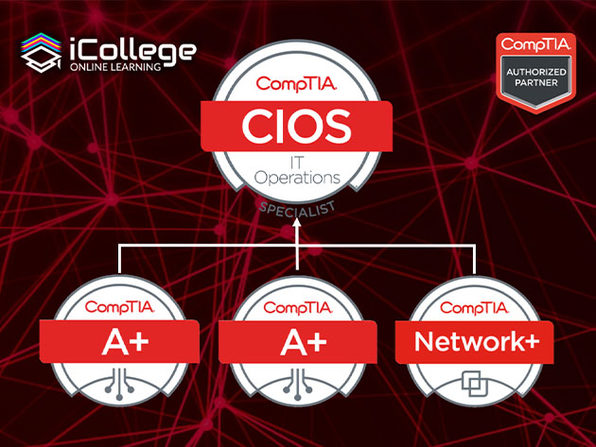 The CompTIA IT Operations Specialist Bundle - Product Image