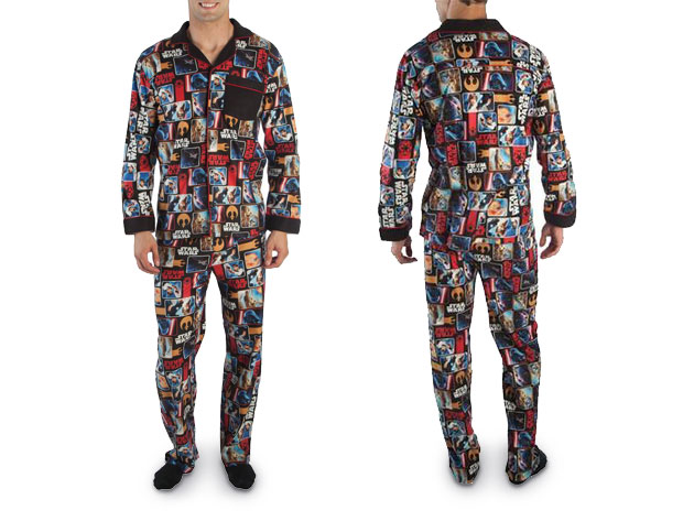 Featuring iconic images from the original trilogy these PJs are sure to invoke nostalgia