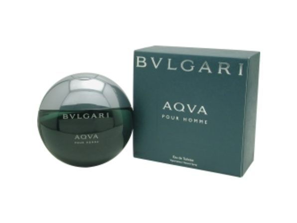 BVLGARI AQUA by Bvlgari EDT SPRAY 1.7 OZ for MEN  100% Authentic - Product Image
