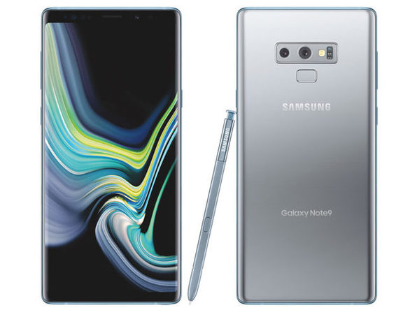 Samsung Galaxy Note 9 Unlocked 128GB Silver (Grade B)