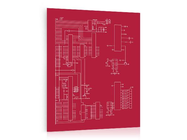 Nintendo Schematic Print   StackSocial on