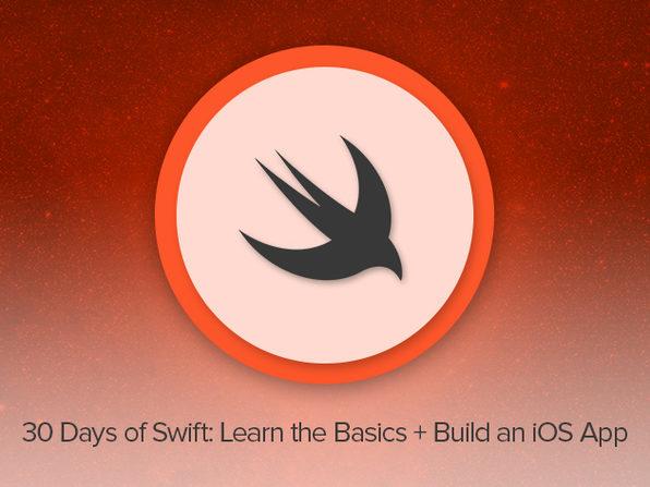 30 Days of Swift: Learn the Basics & Build an iOS App - Product Image