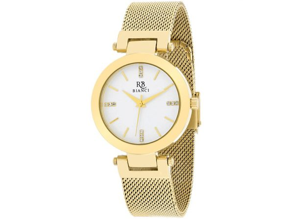 Roberto Bianci Women's Cristallo Silver Dial Watch - RB0407