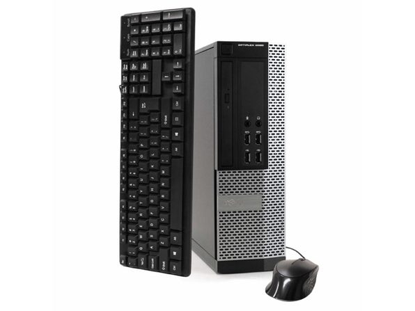 Dell OptiPlex 9020 Desktop PC, 3.2 GHz Intel i5 Quad Core Gen 4, 8GB DDR3 RAM, 500GB SATA HD, Windows 10 Home 64 Bit (Refurbished Grade B)