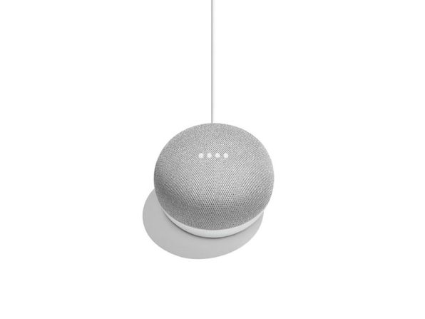Google Home Mini (Chalk) GA00210-US Smart Speaker With Google Assistant