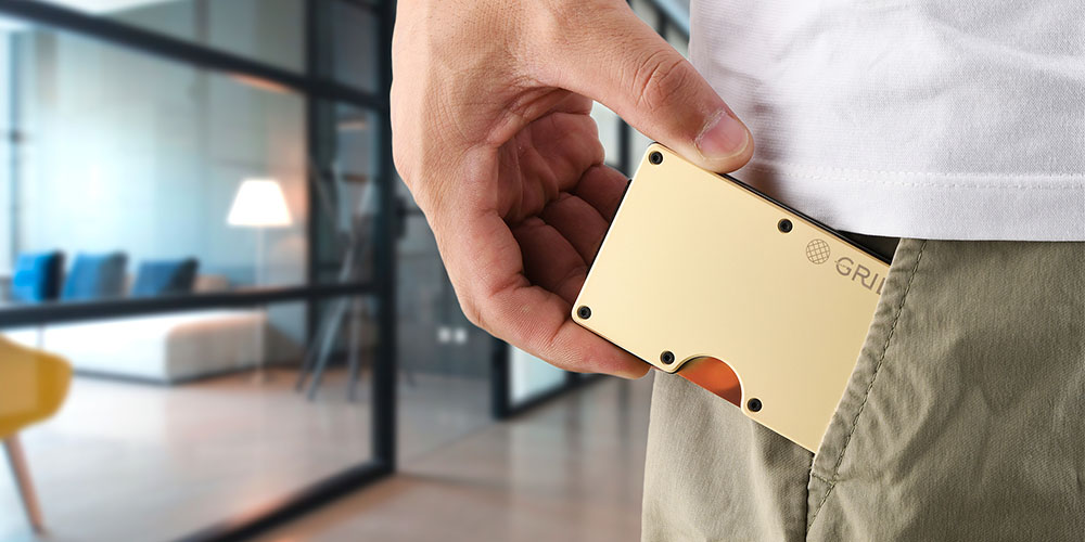 RFID Antimicrobial Copper Wallet, on sale for $39.99