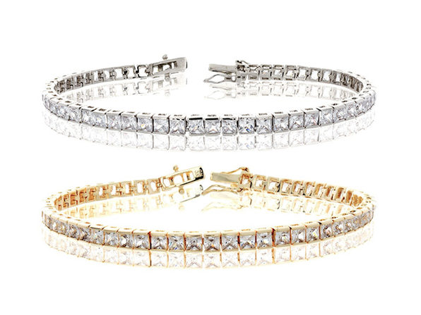 Leila 18k Tennis Bracelet