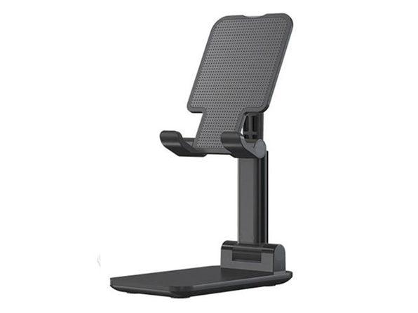 Universal Adjustable Non-Slip Lifting & Folding Phone Stand (Black)