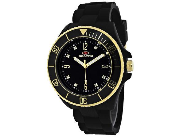 Seapro Women's Sea Bubble Black Dial Watch - SP7410