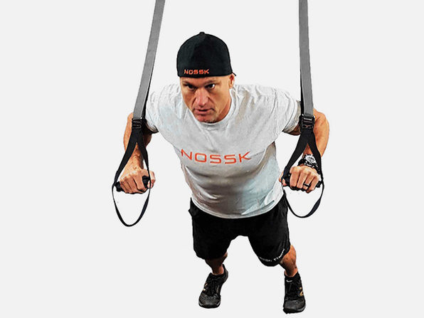 NOSSK TWIN PRO Suspension Fitness Strap Trainer