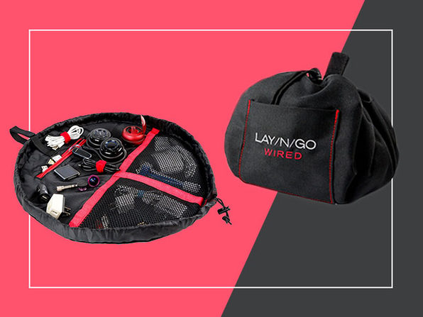 Lay-n-Go Wired Accent Bag (Red)