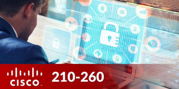 Cisco 210-260: Implementing Cisco Network Security - Product Image