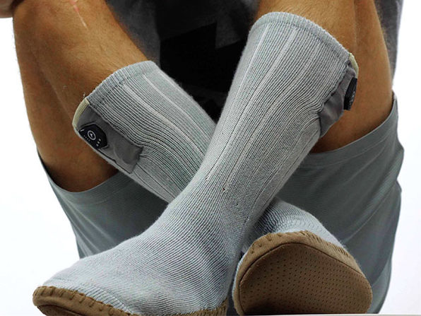 3.7V Heated Slipper Socks (LG/XL)
