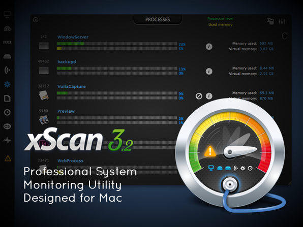Optimize Your Mac w/ xScan - Product Image