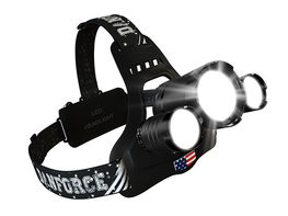 DanForce Bold-S 1080 Lumen Rechargeable Triple Headlamp