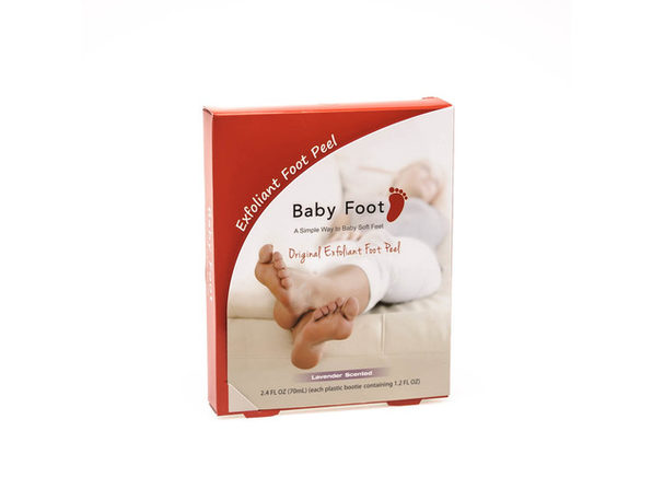 Baby Foot Easy Pack Orignal Deep Skin Exfoliation For Feet 2.4oz (70ml) - Product Image