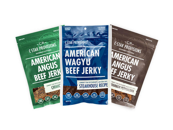 The Saloon Beef Jerky Sampler: 3-Pack
