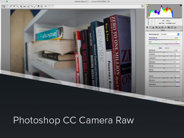 Photoshop CC Camera Raw Course - Product Image
