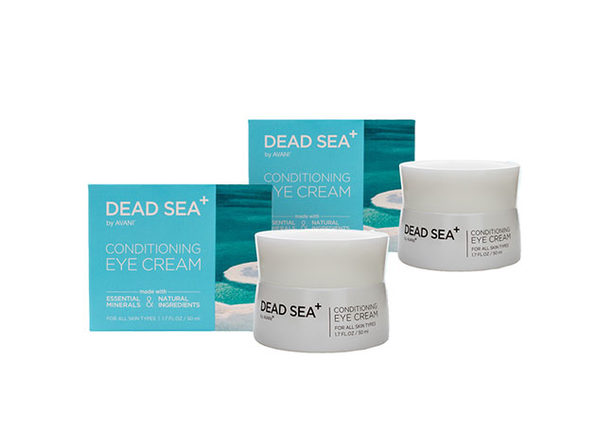Dead Sea+: Conditioning Eye Cream - 2 pack - Product Image