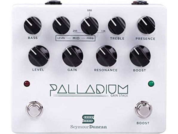 Seymour Duncan Palladium Gain Stage Electric Guitar Multi Effect - White (Used, Damaged Retail Box)