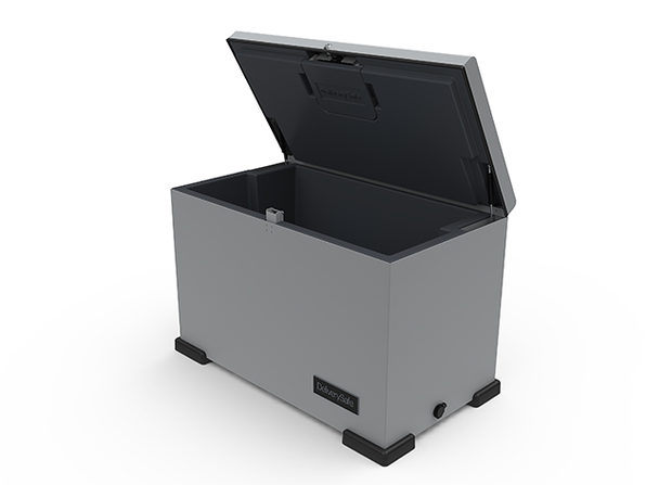 DeliverySafe: Lockable Insulated Box