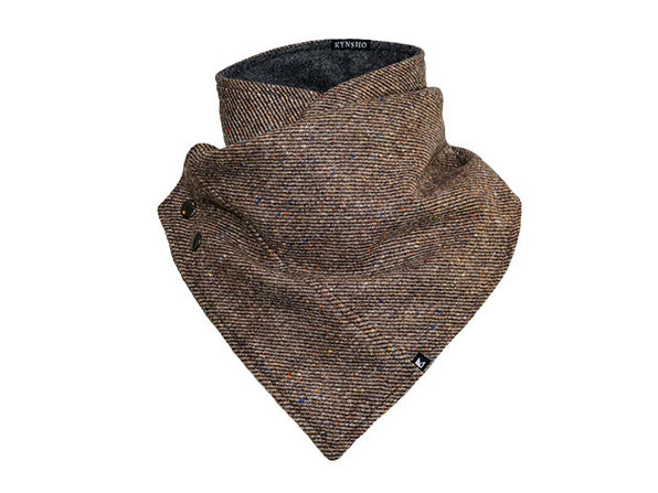 Crossover Cowl (Speckle Brown)