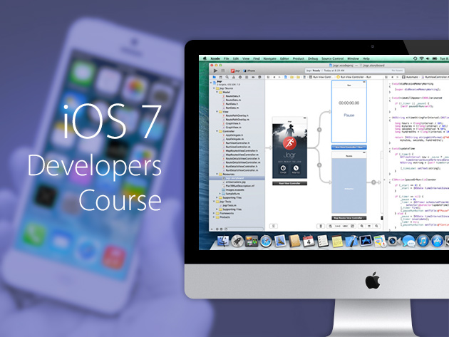 Learn XCode 5 + Objective-C in Over 36 Hours of Training + Build 14 iOS 7 Apps