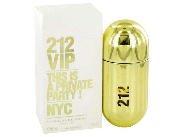 3 Pack 212 Vip by Carolina Herrera Eau De Parfum Spray 1.7 oz for Women