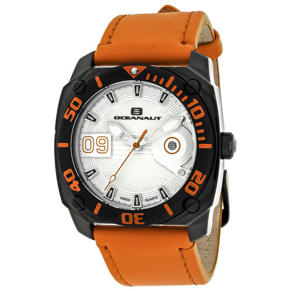 Oceanaut Men's Barletta Silver Dial Watch - OC1344