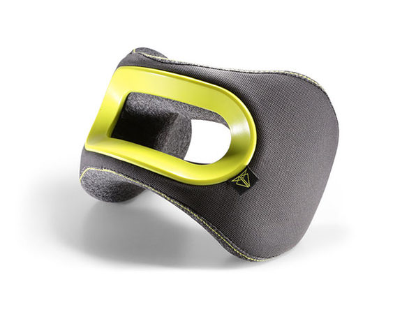 BullRest Memory Foam Travel Pillow (Yellow)