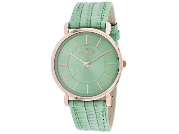 Oceanaut Women's Alma Green Dial Watch - OC2214