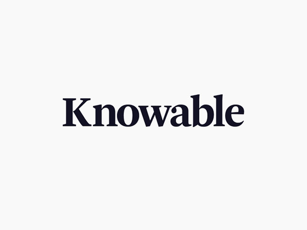 Multiply Your Knowledge With Lifetime Access to Knowable's Audio Learning Platform_2