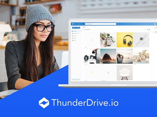 ThunderDrive Cloud Storage: Pro (2TB) Lifetime Subscription
