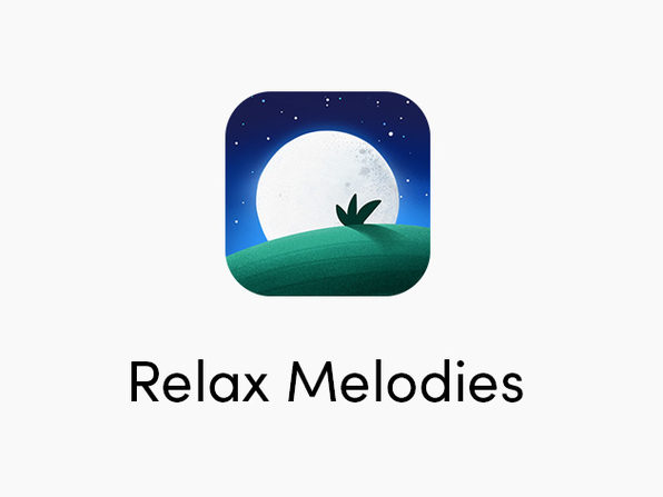 Relax Melodies Sleep & Relaxation App: 1-Yr Subscription