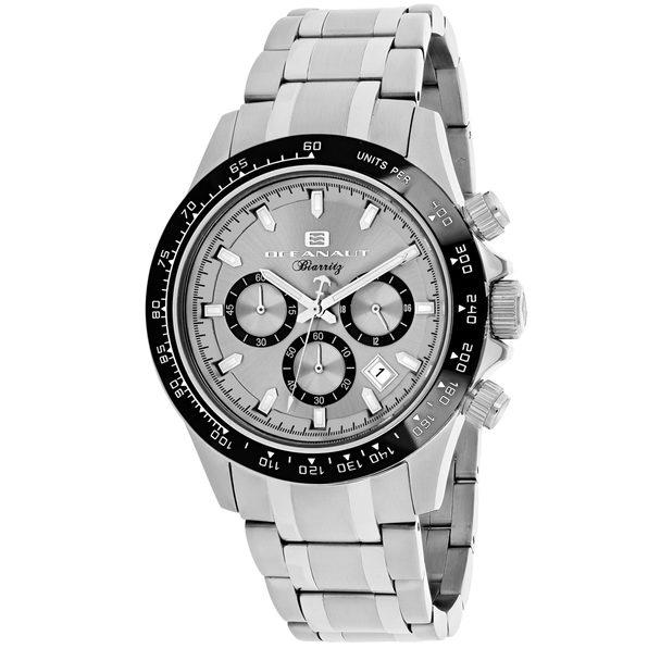 Oceanaut Men's Biarritz Silver Dial Watch - OC6110