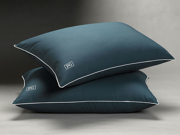 Overstuffed Side/Back Sleeper Down Alternative Pillow: 2-Pack