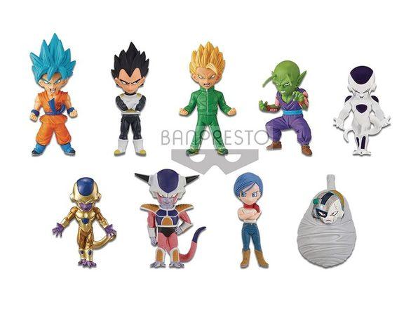 Dragon Ball Z - Bundle of 9 Figures - 2.8 Inch - WCF Series 6